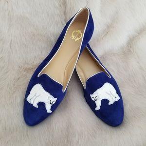 🆕️C Wonder Polar Bear Loafers Sz.8.5